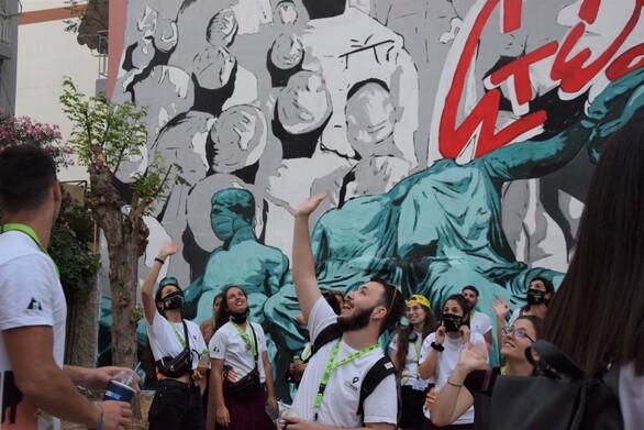 Πάτρα - Συνεχίζονται οι αιτήσεις εθελοντικής συμμετοχής για τη διοργάνωση του ArtWalk 6