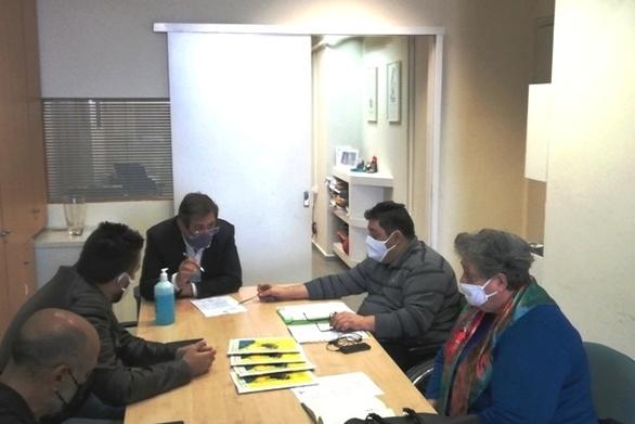 Π.ΟΜ.Α.μεΑ Δ.Ε. & Ν.Ι.Ν.: Συνάντηση με τον Δήμαρχο Πατρέων