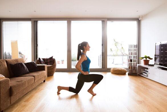 Γυμναστική στο σπίτι - Συμβουλές για να μην παρατήσετε τις προπονήσεις