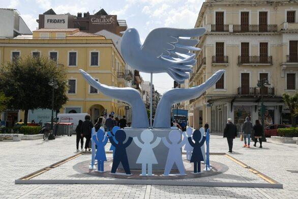 Πάτρα - Σε κλίμα Πρωτομαγιάς η πλατεία Τριών Συμμάχων