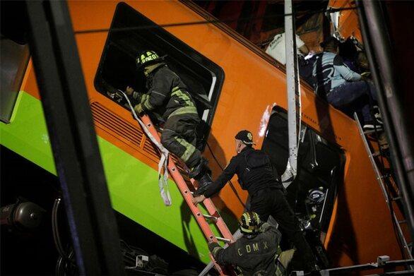 Μεξικό: 13 νεκροί από εκτροχιασμό τρένου - Κατέρρευσε γέφυρα πάνω σε δρόμο