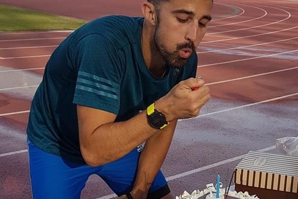 Κωνσταντίνος Ντεντόπουλος - Έσβησε τα κεράκια της τούρτας στο Στάδιο