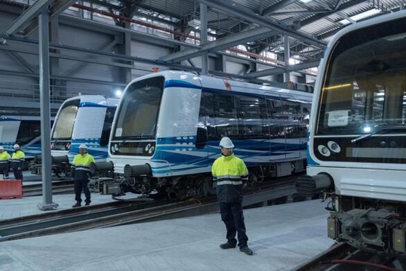 Μέχρι τέλος καλοκαιριού έρχονται και οι 18 συρμοί του μετρό στη Θεσσαλονίκη
