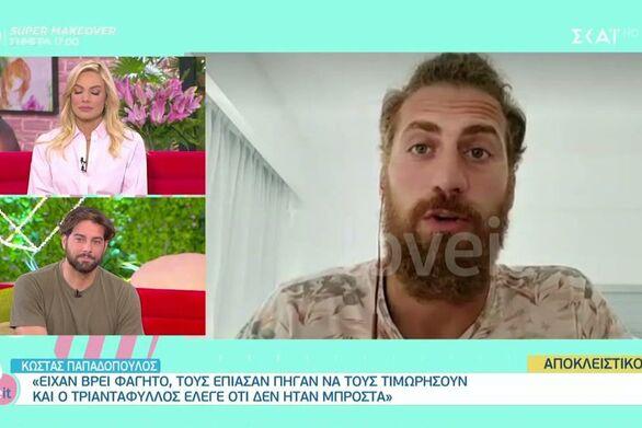 """Κώστας Παπαδόπουλος: """"Ο Τριαντάφυλλος είναι ένας μοντέρνος καραγκιόζης"""" (video)"""