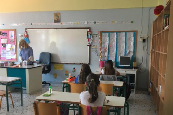 Επιστροφή στα θρανία για τους μικρούς μαθητές της Αχαΐας, μετά από μήνες