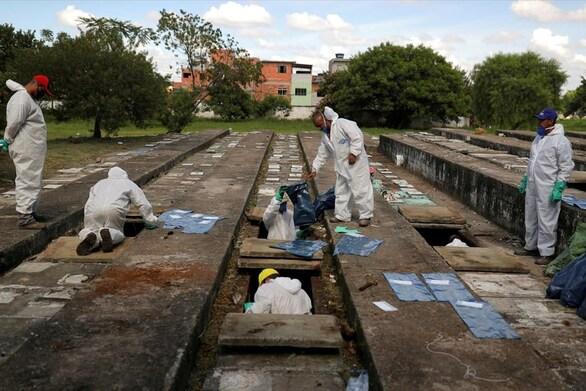 Βραζιλία - Covid-19: 889 θάνατοι το τελευταίο 24ωρο