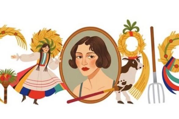 Ζόφια Στριγένσκα: Η Google τιμά με doodle τη σπουδαία Πολωνή ζωγράφο του Μεσοπολέμου