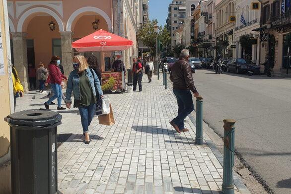 Πάτρα: Το σύνολο σχεδόν των εμπορικών μαγαζιών δεν άνοιξε και αυτή την Κυριακή
