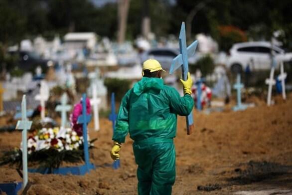 Βραζιλία: Σχεδόν 37.500 κρούσματα και 790 θάνατοι από τον κορωνοϊό