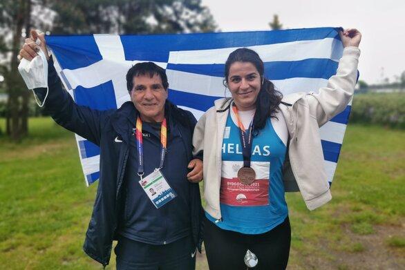 Ευρωπαϊκό Πρωτάθλημα στίβου «Μπιντγκόζ 2021»: Χάλκινο μετάλλιο για την Μαντούδη στη σφαίρα