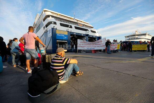 Πειραιάς: Ανεστάλη η απεργία των ναυτικών