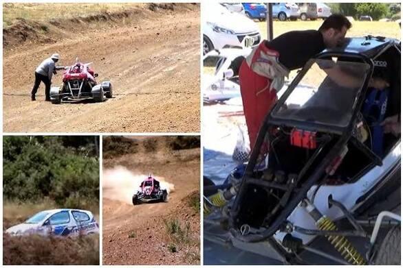 Highlights από το πανελλήνιο πρωτάθλημα Cross Car στην Χαλανδρίτσα (video)