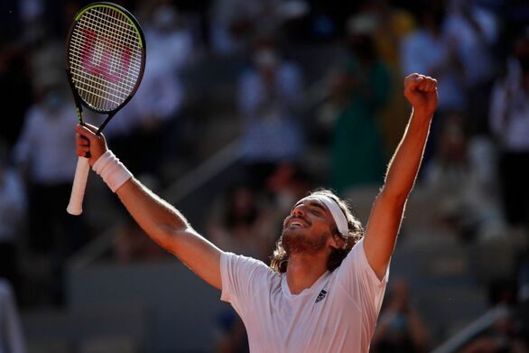 Roland Garros: Πόσοι τηλεθεατές παρακολούθησαν την μυθική μάχη του Τσιτσιπά στον ημιτελικό