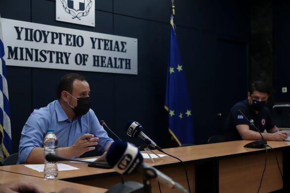 Κορωνοϊός: Live οι ανακοινώσεις του υπουργείου υγείας