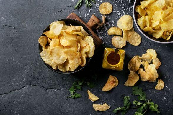 Σπιτικά τσιπς πατάτας