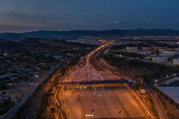 Η «κάθοδος» των Αθηναίων προς Πελοπόννησο και Αχαΐα από ψηλά (pics)