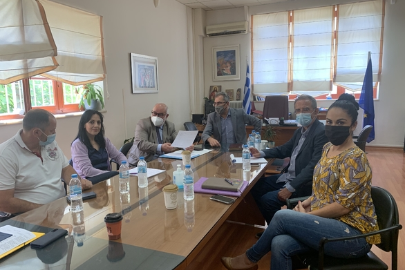 Το Δημαρχείο Ερυμάνθου επισκέφθηκε ο αντιπεριφερειάρχης Παναγιώτης Σκελλαρόπουλος