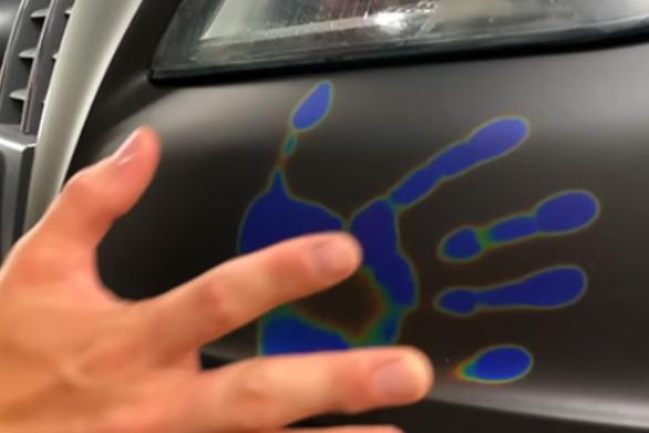 Χρώμα αυτοκινήτου αλλάζει ανάλογα με τη θερμοκρασία (video)