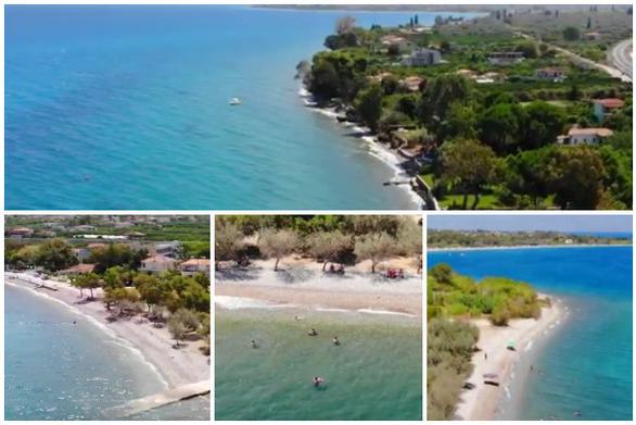 """Ροδιά - Ένας γαλάζιος """"παράδεισος"""" στην Αχαΐα (video)"""