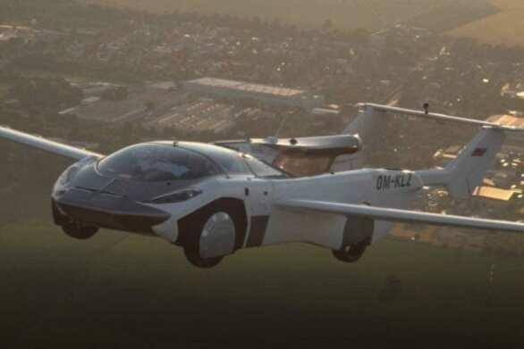 Το πρώτο ιπτάμενο αυτοκίνητο ολοκλήρωσε πτήση 35 λεπτών