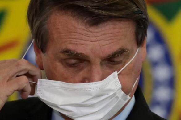 Βραζιλία: Για πρώτη φορά η πλειοψηφία των πολιτών απορρίπτει τον πρόεδρο Μπολσονάρου
