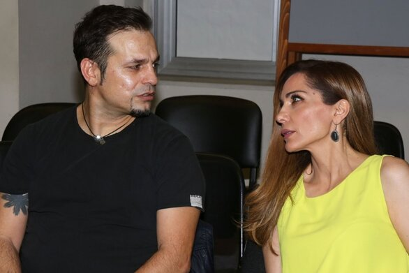 """Νικολαΐδης για Βανδή: """"Η τύπισσα είναι κάθε βράδυ στα μπουζούκια και τα θέατρα"""""""