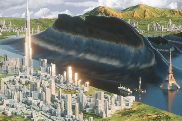 Τα μεγαλύτερα τσουνάμι στην ιστορία σε μια 3D αναπαράσταση (video)