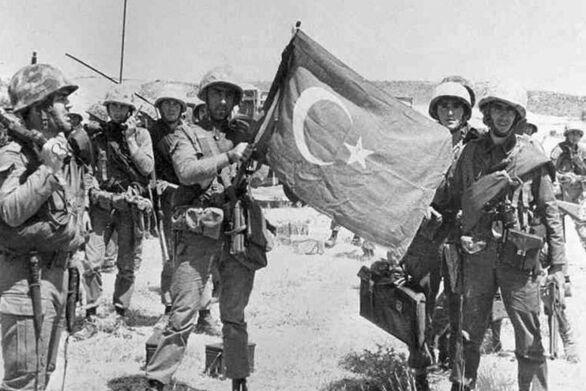 Σαν σήμερα 20 Ιουλίου τουρκικά στρατεύματα κάνουν απόβαση και εισβάλουν στην Κύπρο