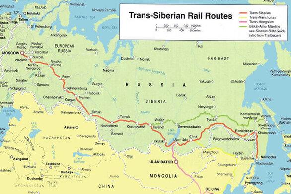 Σαν σήμερα 21 Ιουλίου ολοκληρώνεται ο Υπερσιβηρικός Σιδηρόδρομος