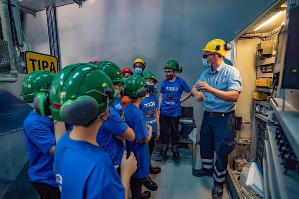 TΙΤΑΝ: Οι νεαροί αυτοματιστές ROBONERDS στο εργοστάσιο Ευκαρπίας για ένα διαδραστικό εκπαιδευτικό διήμερο (φωτο)