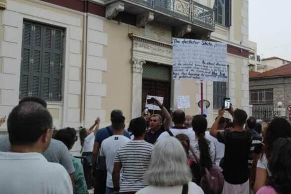 Πάτρα: Σε επιφυλακή η ΕΛ.ΑΣ. για τη συγκέντρωση μπροστά από το Επισκοπείο