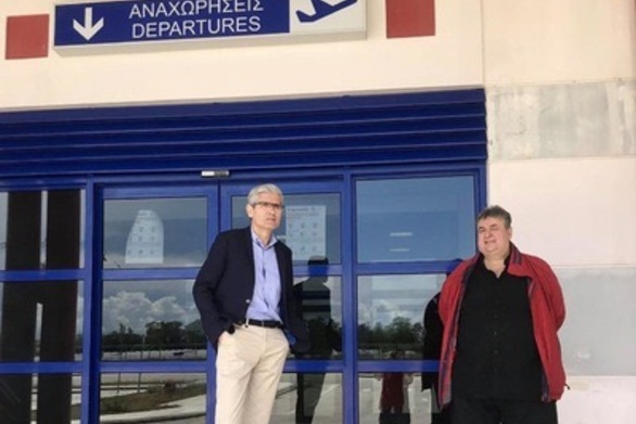 Ο Άγγελος Τσιγκρής ζητά τη διενέργεια δειγματοληπτικών ελέγχων στο Αεροδρόμιο του Αράξου