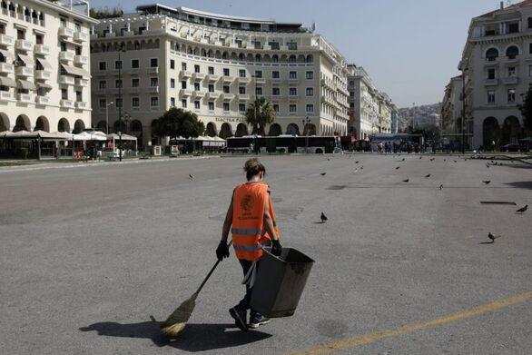 Μέτρα προστασίας εργαζομένων για τον καύσωνα - Μείωση απασχόλησης και μερική παύση εργασιών 12:00 - 16:00