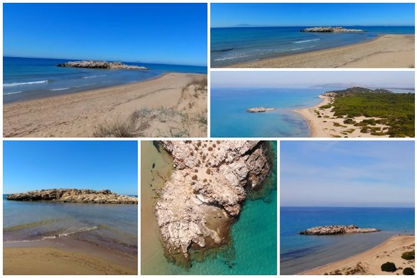 """""""Καλοκαιρινή βουτιά"""" στην παραλία Κουνουπελάκι (video)"""