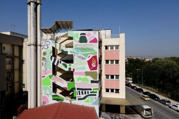 Τα νοσοκομεία της χώρας γεμίζουν… χρώμα - Η νέα προσπάθεια εν μέσω πανδημίας ξεκίνησε από το ΓΝ Λάρισας