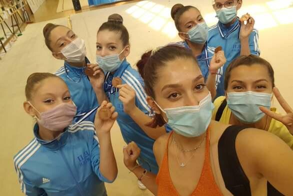 Ρυθμική Γυμναστική - Σπουδαίες εμφανίσεις στο πανελλήνιο από τις αθλήτριες της Γ.Ε. Πάτρας