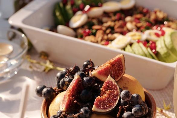 Οι φυσικοί θησαυροί του Αυγούστου - Φρούτα, λαχανικά και μυρωδικά εποχής