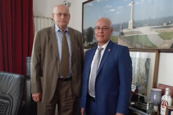 ΙΕΘΠ Πάτρας: Επίτιμος Πρόεδρος ο Καθηγητής και Πρόεδρος του Πανεπιστημίου Singidunum Dr. Milovan Stanišić