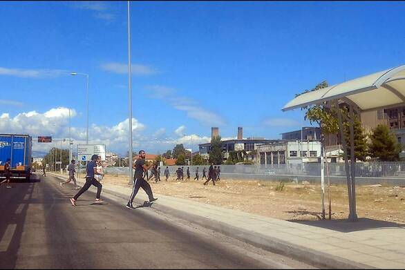 Πάτρα: Μεγαλύτερη η κινητικότητα στους χώρους μπροστά από το νέο λιμάνι τις τελευταίες μέρες