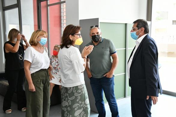 Πάτρα: Ο Κώστας Πελετίδης στην τελετή του αγιασμού για την έναρξη της λειτουργίας του κτιρίου των μαχητών