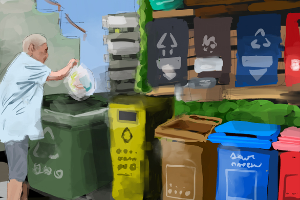 σπιράλ: «Που καταλήγουν τα ανακυκλώσιμα που τοποθετούνται στους μπλε κάδους;»
