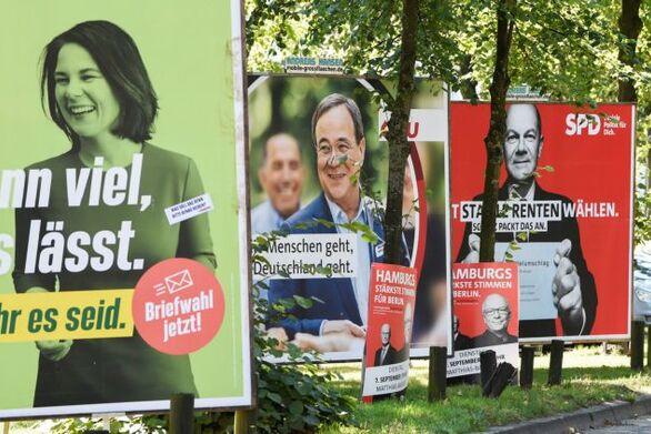 Γερμανία: Στις πέντε μονάδες η διαφορά μεταξύ SPD και CDU/CSU