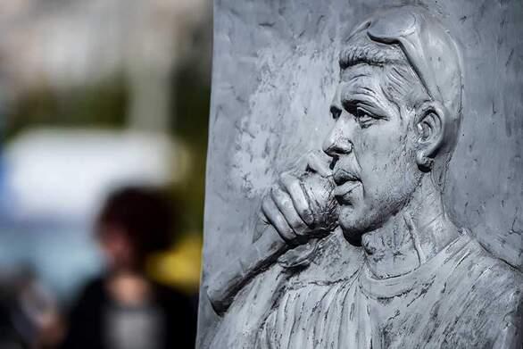 Πάτρα: Συγκέντρωση για τον Παύλο Φύσσα στην Αγία Σοφία