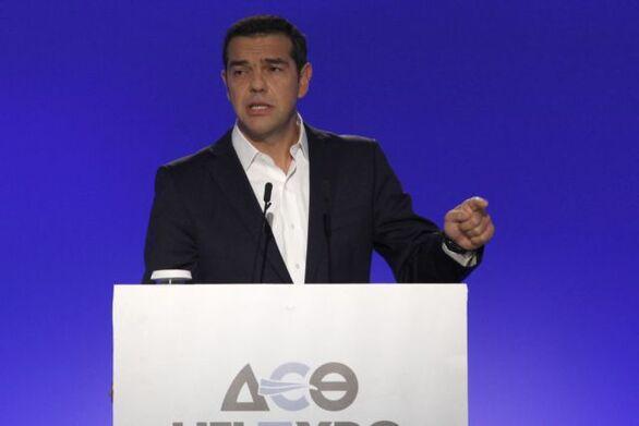ΔΕΘ - Τσίπρας: Δείτε live την ομιλία του προέδρου του ΣΥΡΙΖΑ