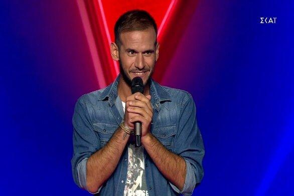Ο Πατρινός Λεωνίδας Βασιλακόπουλος μπήκε στο The Voice (video)