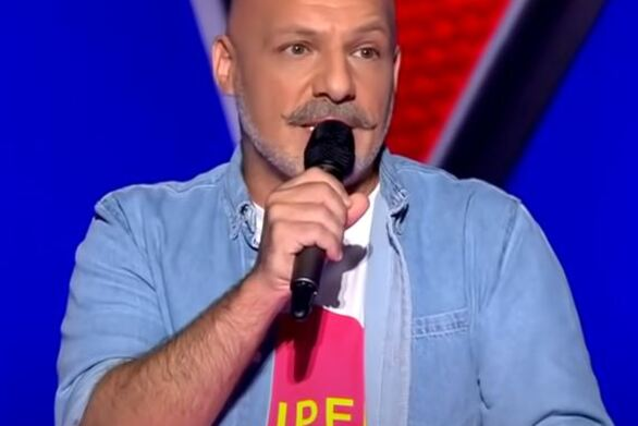 Ο Νίκος Μουτσινάς στο The Voice - «Κάγκελο» οι κριτές (video)