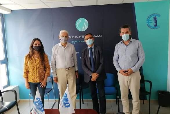 """Συνάντηση του Αντιπεριφερειάρχη Φωκίωνα Ζαΐμη με τον Γενικό Διευθυντή της """"Airport Regions Council"""""""