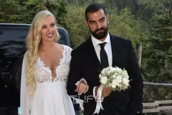 Τζούλια Νόβα και Μιχάλης Βιτζηλαίος ήρθαν εις γάμου κοινωνία