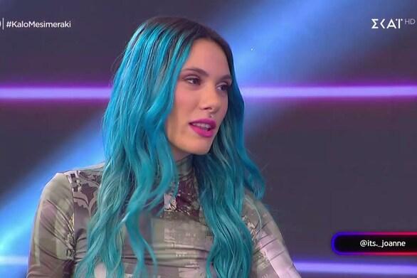 "Joanne: ""Θα ήθελα για την Eurovision ένα ανεβαστικό και παράλληλα ερμηνευτικό τραγούδι"" (video)"