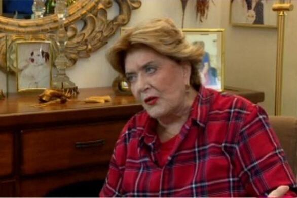 """Βάσια Τριφύλλη: """"Ο Θανάσης Βέγγος ήταν μες στην κατάθλιψη"""""""
